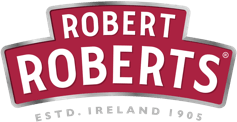 robert roberts logo and product