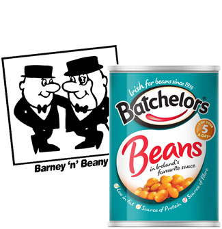 batchelors logo and product