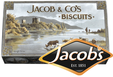 jacobs logo and product