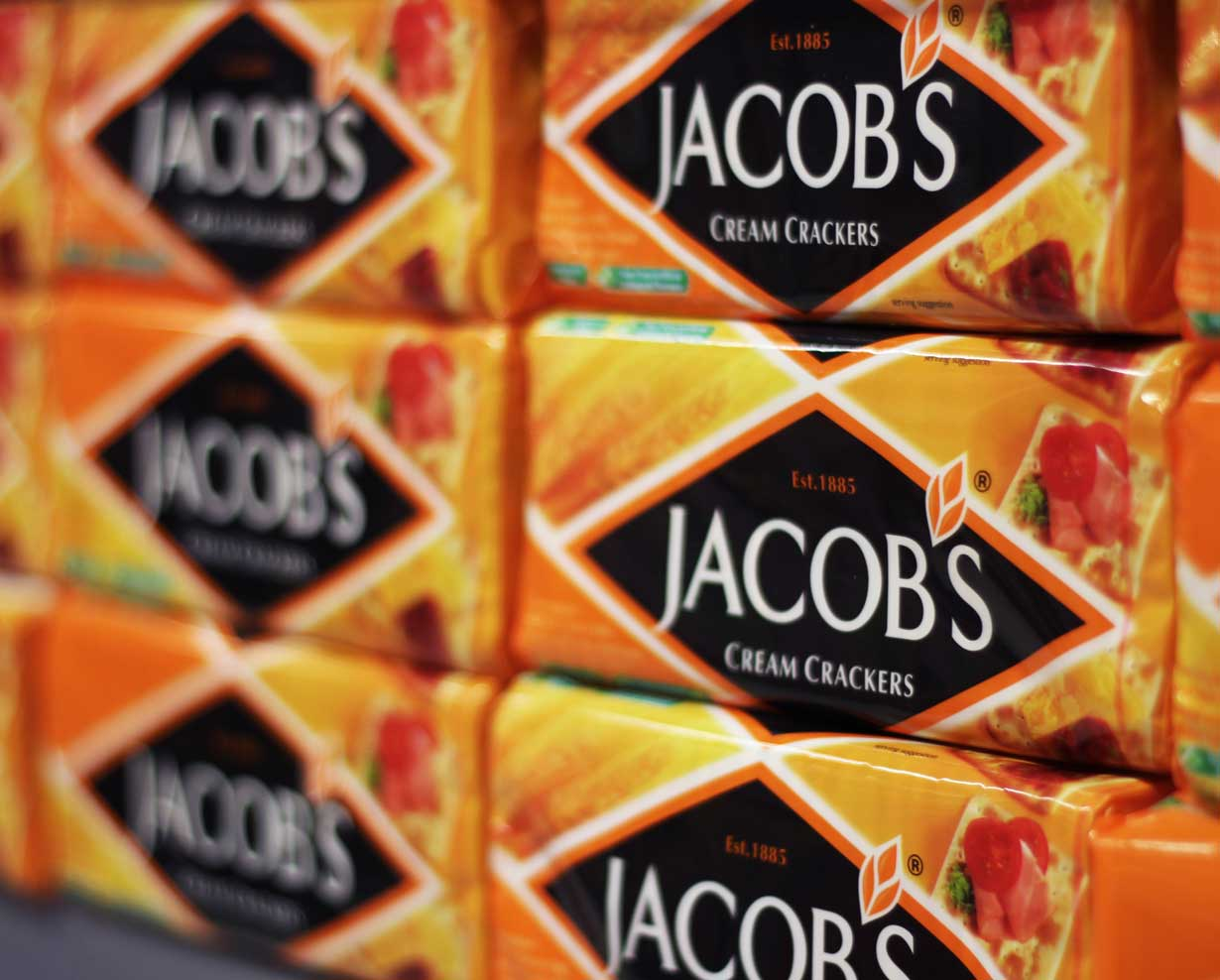 Jacob's Cream Crackers Pack Shot