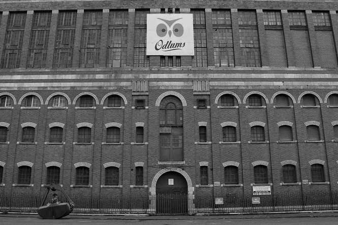 Old Odlums Building
