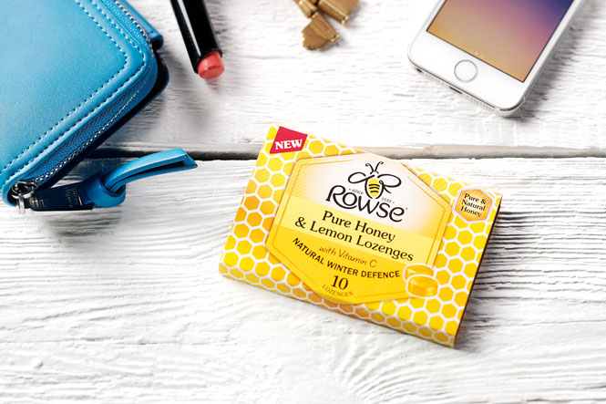 Rowse Pure Honey and Lemon Lozenges